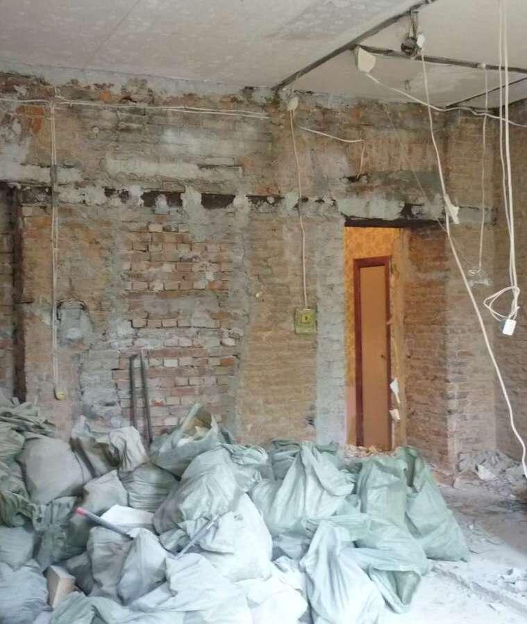 Демонтажные услуги в квартире